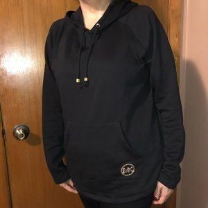 Michael Kors hoodie jacket with rhinestone detail